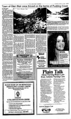 Ukiah Daily Journal from Ukiah, California on June 27, 1993 · Page 3