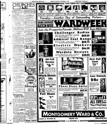Decatur Evening Herald from Decatur, Illinois on October 6, 1930 · Page 7