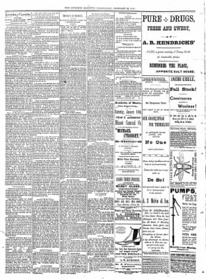 Sterling Daily Gazette from Sterling, Illinois on January 11, 1888 · Page 2