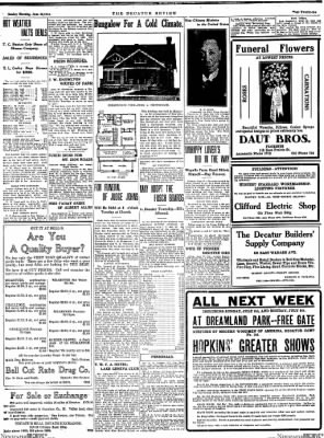 The Daily Review from Decatur, Illinois on June 28, 1914 · Page 21