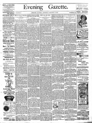 Sterling Daily Gazette from Sterling, Illinois on January 14, 1888 · Page 1