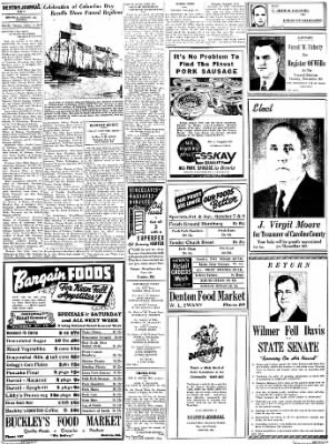Denton Journal from Denton, Maryland on October 8, 1938 · Page 8