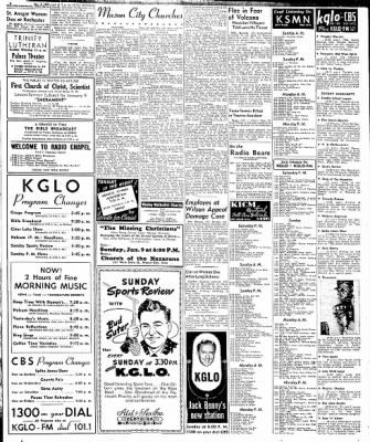 Globe-Gazette from Mason City, Iowa on January 10, 1949 · Page 1