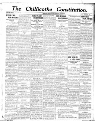 The Chillicothe Constitution-Tribune from Chillicothe, Missouri on October 28, 1916 · Page 5