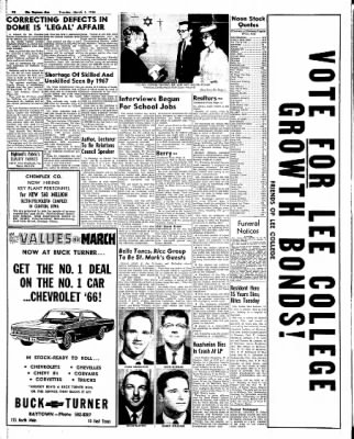 The Baytown Sun from Baytown, Texas on March 1, 1966 · Page 16