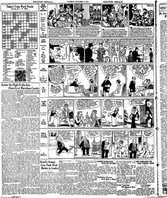 Decatur Evening Herald from Decatur, Illinois on October 7, 1930 · Page 14