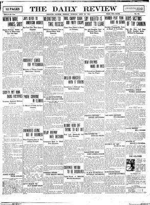 The Daily Review from Decatur, Illinois on June 30, 1914 · Page 1