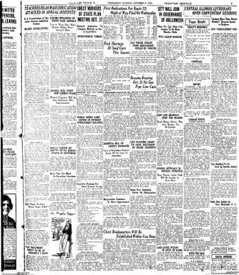 Decatur Evening Herald from Decatur, Illinois on October 8, 1930 · Page 3