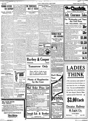 The Daily Review from Decatur, Illinois on June 30, 1914 · Page 8