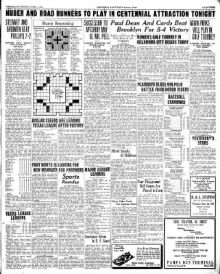 Pampa Daily News from Pampa, Texas on June 3, 1936 · Page 3