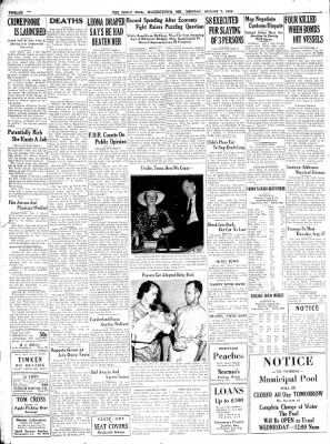 The Daily Mail from Hagerstown, Maryland on August 7, 1939 · Page 12