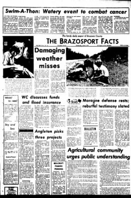 The Brazosport Facts from Freeport, Texas on June 6, 1973 · Page 1