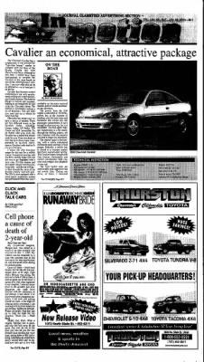 Ukiah Daily Journal from Ukiah, California on January 28, 2000 · Page 13