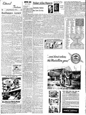 Pampa Daily News from Pampa, Texas on February 15, 1959 · Page 18