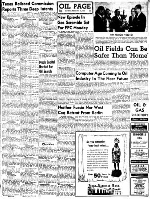 Pampa Daily News from Pampa, Texas on February 15, 1959 · Page 19