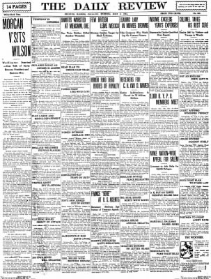 The Daily Review from Decatur, Illinois on July 2, 1914 · Page 1