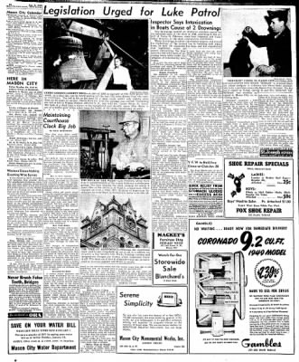Globe-Gazette from Mason City, Iowa on January 7, 1949 · Page 19