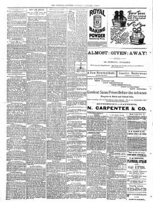 Sterling Daily Gazette from Sterling, Illinois on January 23, 1888 · Page 4