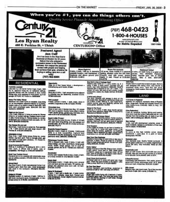 Ukiah Daily Journal from Ukiah, California on January 28, 2000 · Page 23