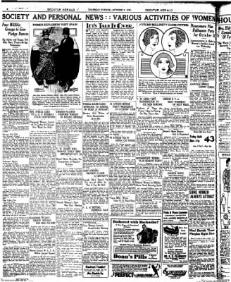 Decatur Evening Herald from Decatur, Illinois on October 9, 1930 · Page 8