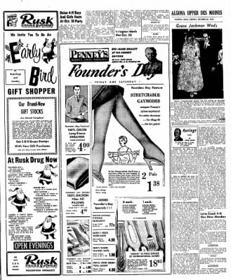 The Algona Upper Des Moines from Algona, Iowa on October 30, 1956 · Page 15