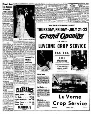 Kossuth County Advance from Algona, Iowa on July 14, 1966 · Page 12