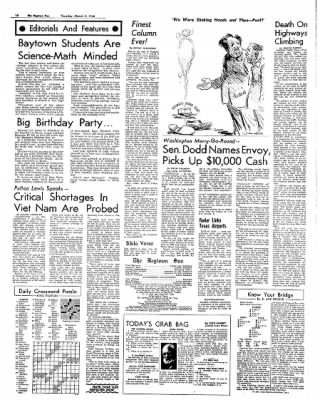 The Baytown Sun from Baytown, Texas on March 3, 1966 · Page 14
