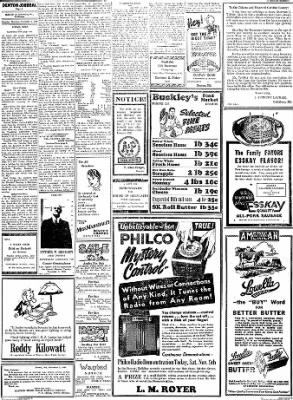 Denton Journal from Denton, Maryland on November 5, 1938 · Page 7