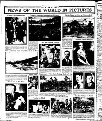 Decatur Evening Herald from Decatur, Illinois on October 9, 1930 · Page 14