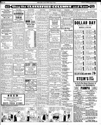 Pampa Daily News from Pampa, Texas on June 7, 1936 · Page 6