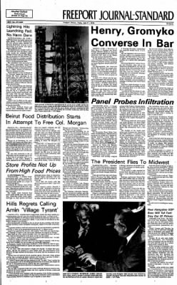 Freeport Journal-Standard from Freeport, Illinois on July 11, 1975 · Page 1
