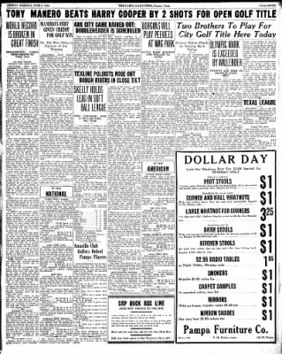 Pampa Daily News from Pampa, Texas on June 7, 1936 · Page 7