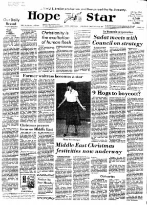 Hope Star from Hope, Arkansas on December 24, 1977 · Page 1