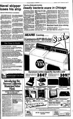 Ukiah Daily Journal from Ukiah, California on September 20, 1987 · Page 7