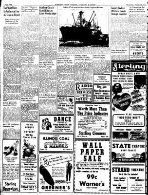 Sterling Daily Gazette from Sterling, Illinois on October 22, 1941 · Page 2