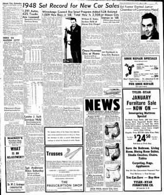 Globe-Gazette from Mason City, Iowa on January 6, 1949 · Page 8