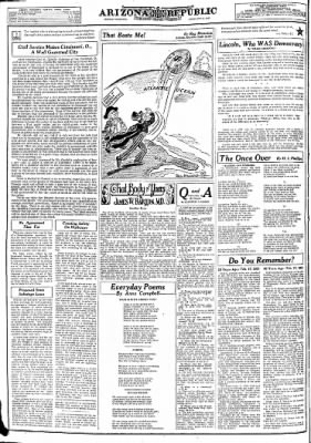 Arizona Republic from Phoenix, Arizona on February 17, 1941 · Page 28