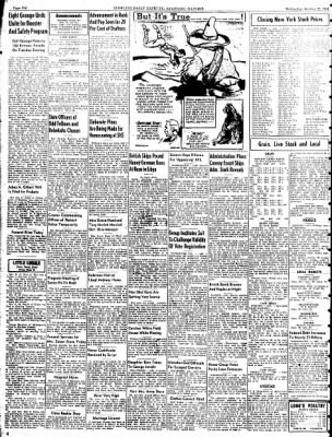 Sterling Daily Gazette from Sterling, Illinois on October 22, 1941 · Page 6