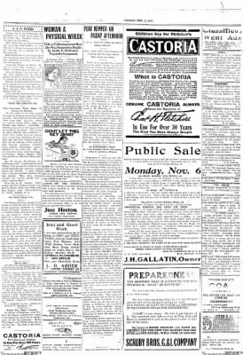 The Chillicothe Constitution-Tribune from Chillicothe, Missouri on November 3, 1916 · Page 7