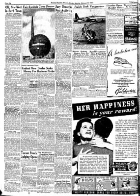 Arizona Republic from Phoenix, Arizona on February 17, 1941 · Page 34