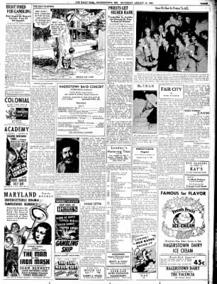 The Daily Mail from Hagerstown, Maryland on August 12, 1939 · Page 3