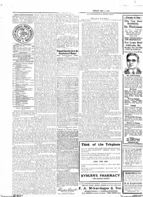 The Chillicothe Constitution-Tribune from Chillicothe, Missouri on November 3, 1916 · Page 10