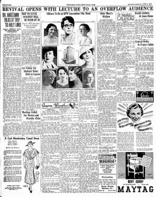 Pampa Daily News from Pampa, Texas on June 8, 1936 · Page 4