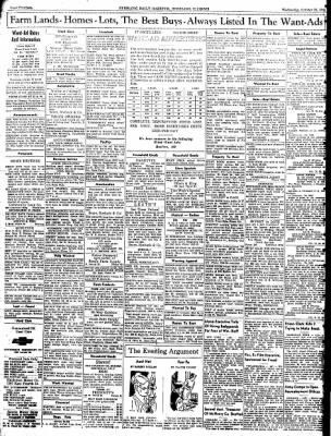 Sterling Daily Gazette from Sterling, Illinois on October 22, 1941 · Page 14