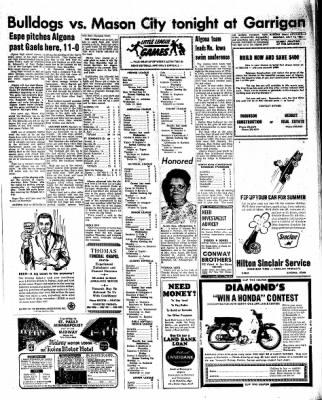 Kossuth County Advance from Algona, Iowa on July 18, 1966 · Page 5