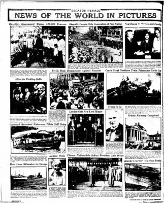 Decatur Evening Herald from Decatur, Illinois on October 10, 1930 · Page 24