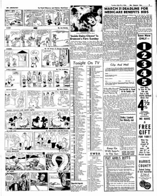 The Baytown Sun from Baytown, Texas on March 6, 1966 · Page 9