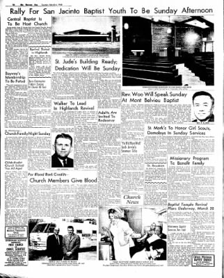 The Baytown Sun from Baytown, Texas on March 6, 1966 · Page 10