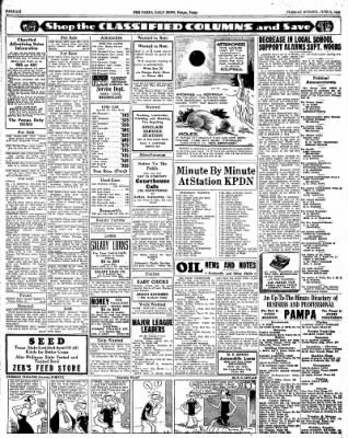 Pampa Daily News from Pampa, Texas on June 9, 1936 · Page 6