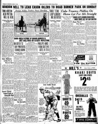 Pampa Daily News from Pampa, Texas on June 9, 1936 · Page 7